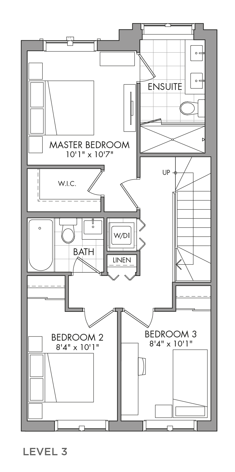 The Aspenwood, FloorPlan Level3