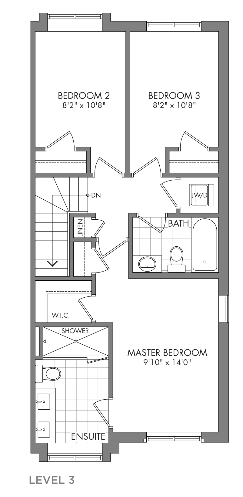 The Cedarglen, FloorPlan Level3