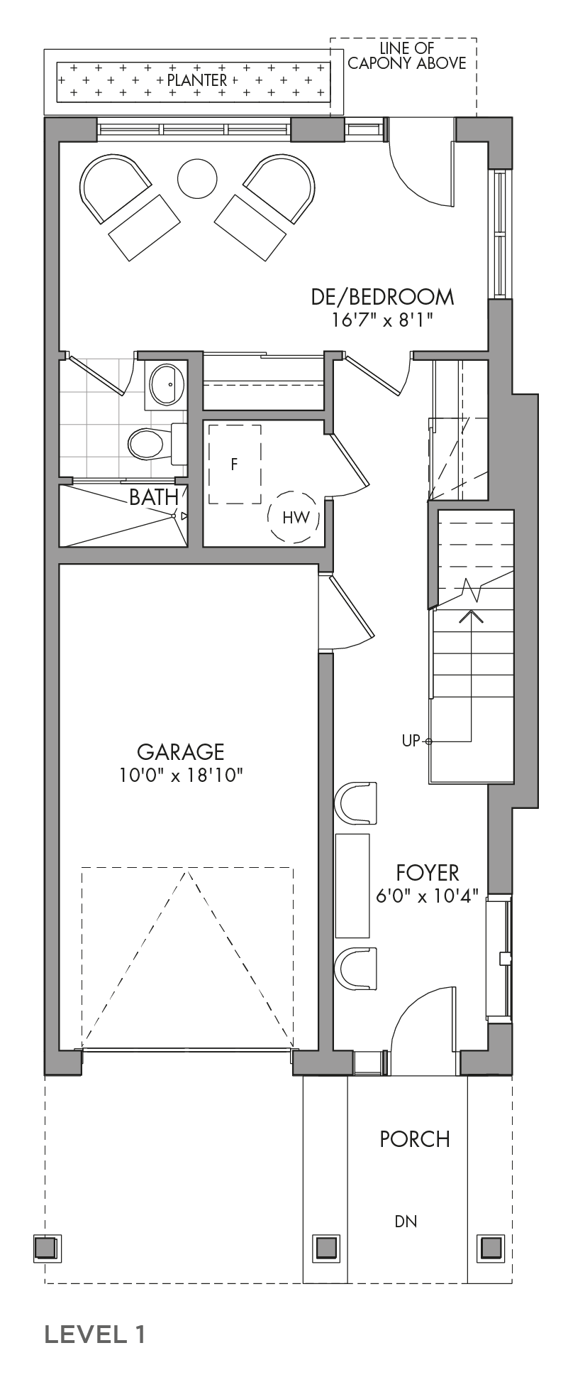The Mulberrylane, FloorPlan Level1