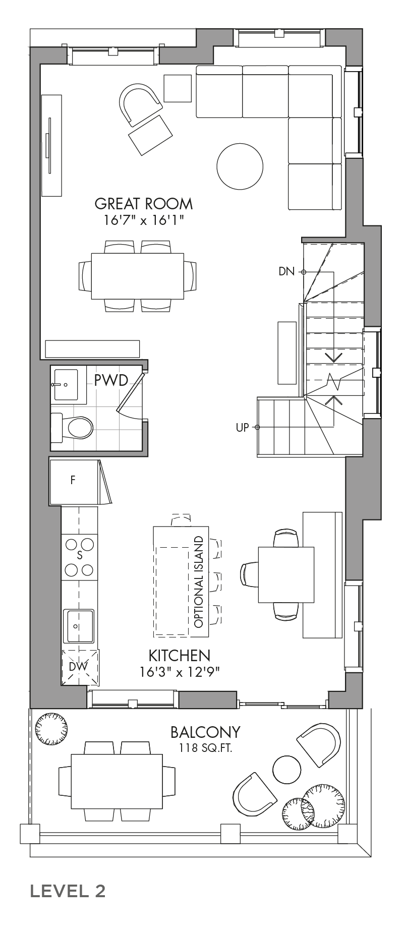 The Mulberrylane, FloorPlan Level2
