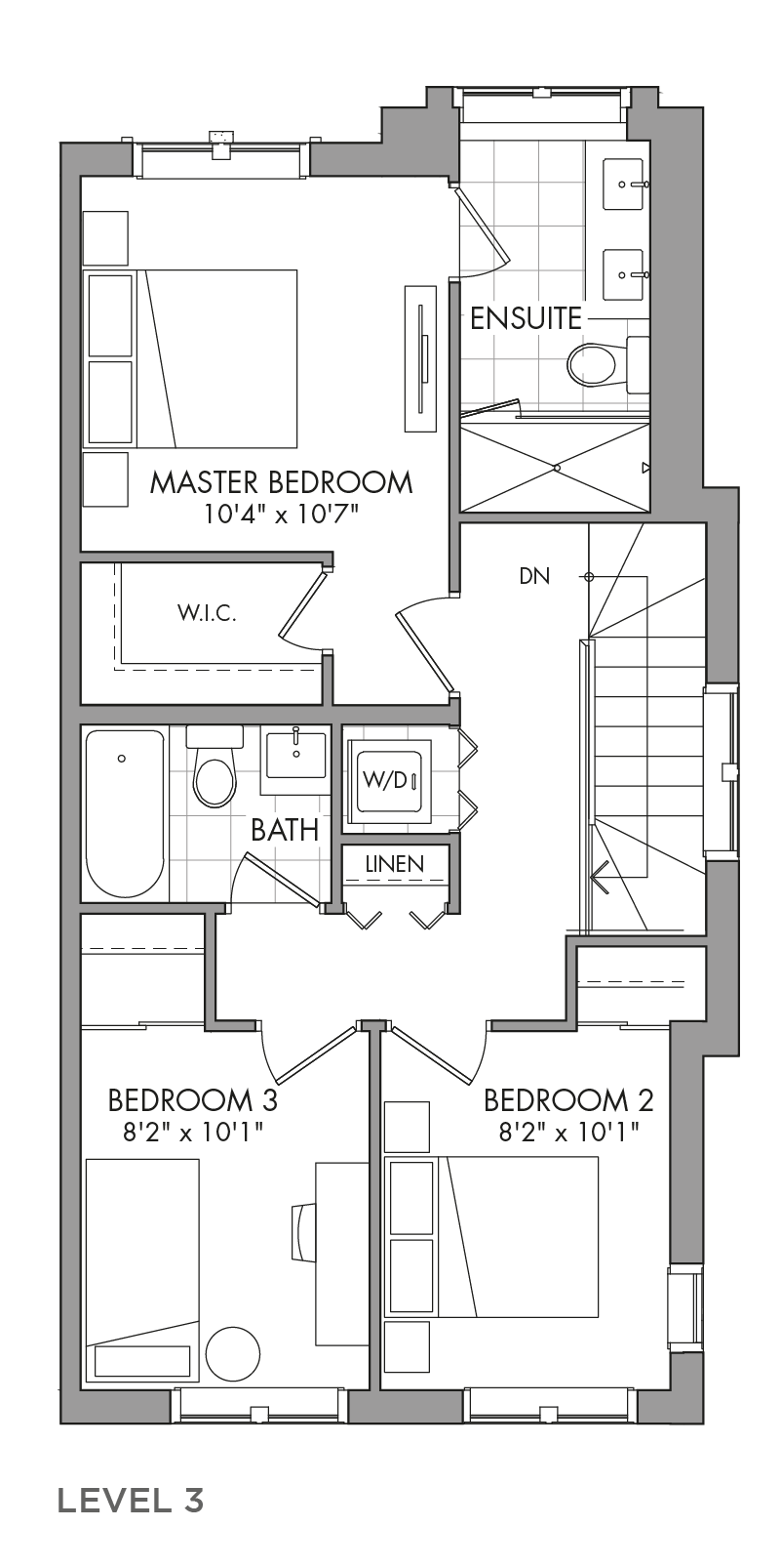 The Mulberrylane, FloorPlan Level3