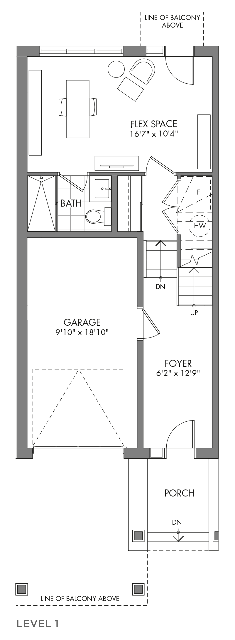 The Spruceview, FloorPlan Level1