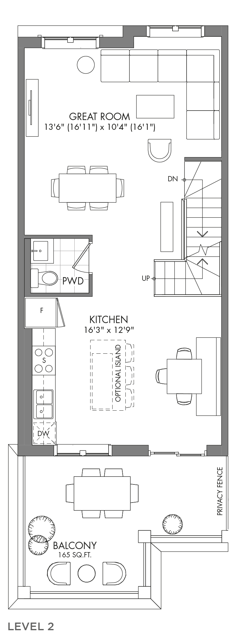 The Spruceview, FloorPlan Level2