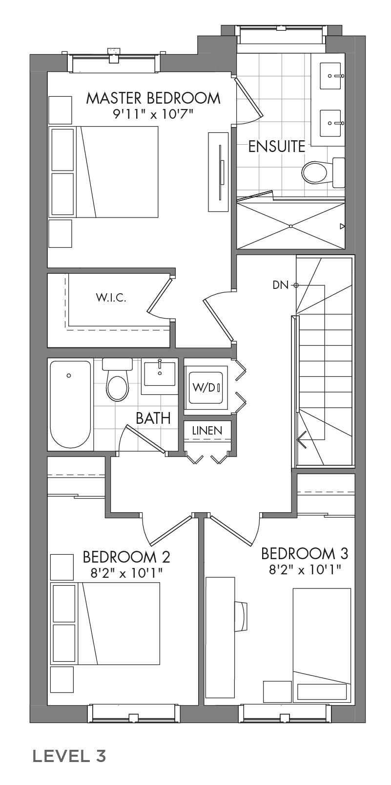 The Spruceview, FloorPlan Level3